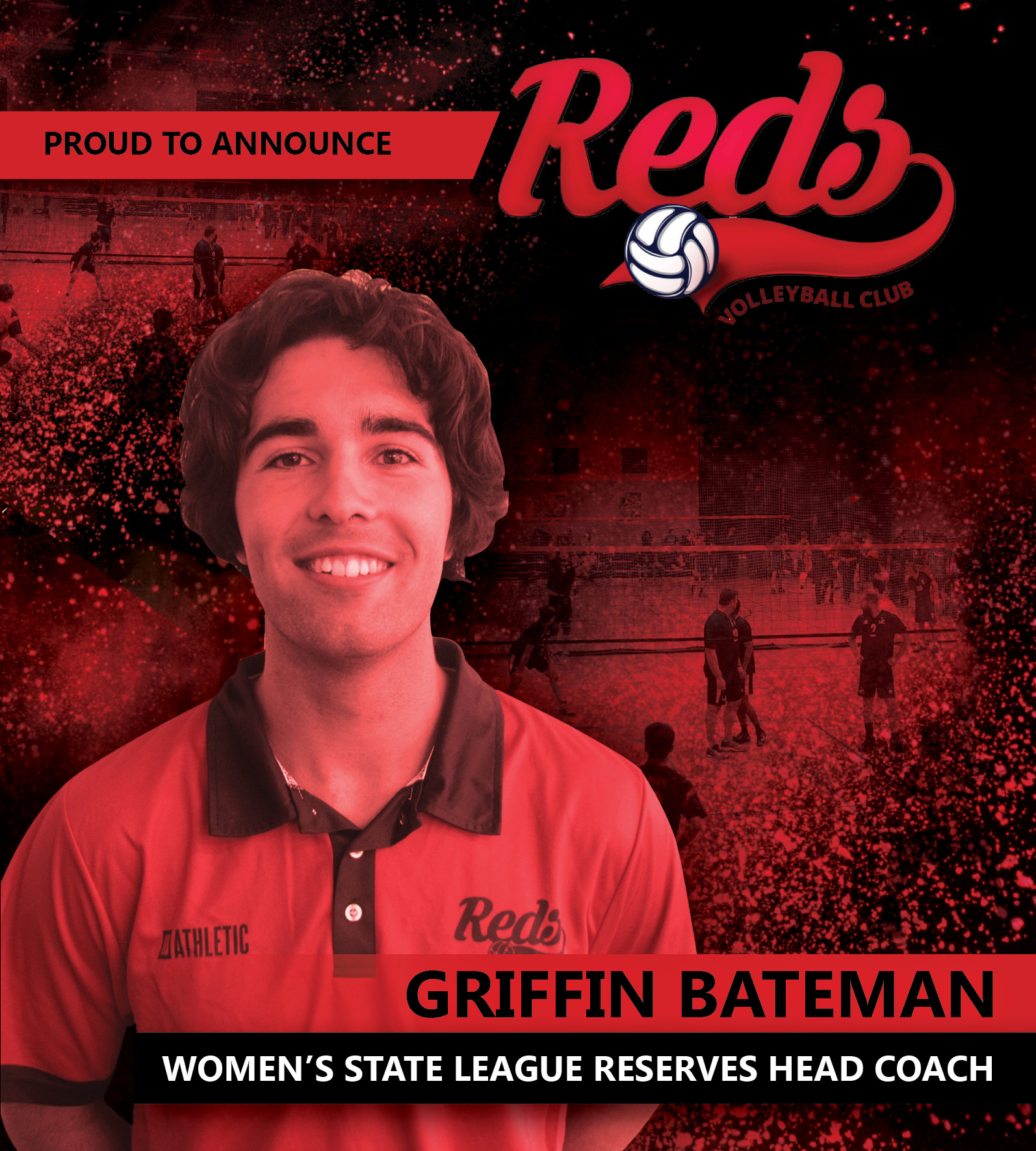 Griffin Bateman - Women's State League Reserves Head Coach