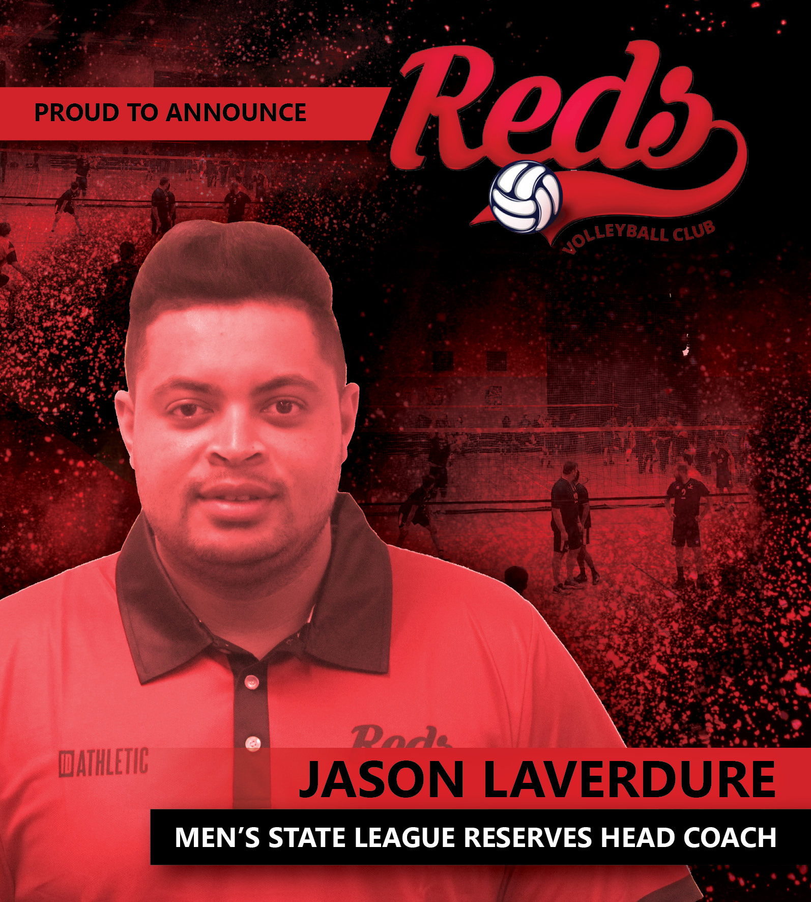 Jason Laverdure - Men's State League Reserves Head Coach
