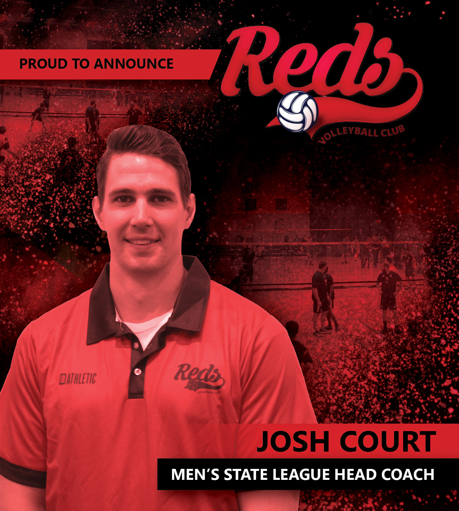 Joshua Court - Men's State League Head Coach