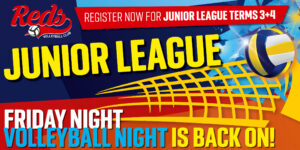 Junior League Volleyball Terms 3 and 4
