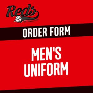 Men's Uniform Order Form