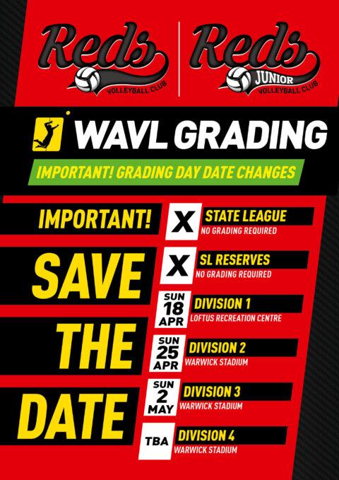 WAVL Grading Dates